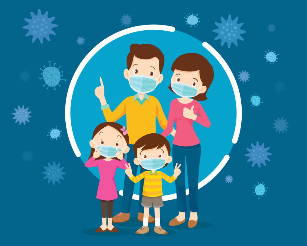 l'impact de la crise de coronavirus sur les familles